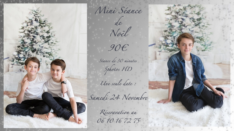 seance photo, Enghien les bains, 95, Noel, photo en studio